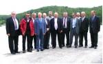 photo Préfet sous Préfet et officiels en visite au lac des chênes