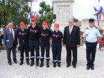 photo Sapeurs Pompiers récipiendaires