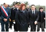 photo Le Président SARKOZY  Chez Mme POUX à Lacour de Visa