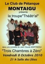 photo La troupe TéâtrAL à nouveau à MONTAIGU le Vendredi 8 Octobre