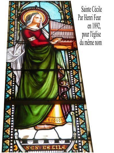 Sainte Cécile par Henri Feur